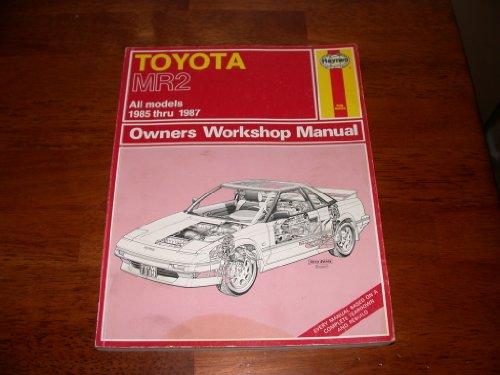 9781850103400: Toyota MR2 owner's workshop manual