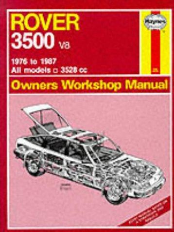 9781850103639: Rover 3500 V8 1976-87 Owner's Workshop Manual
