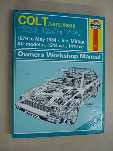 9781850103677: Colt 1400 GLX Owner's Workshop Manual (Service & repair manuals)