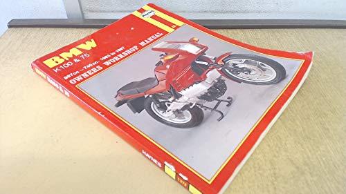 BMW K100 & 75 Owners Workshop Manual, 1983 to 1987 (987cc; 740 cc): Churchill, Jeremy