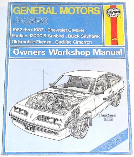 9781850103875: General Motors J-Cars owners workshop manual