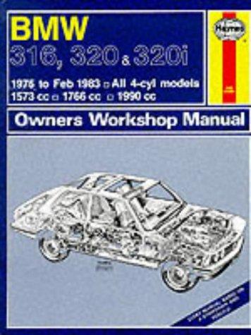 B. M. W. 316, 320 and 320i 1975-83 Owner's Workshop Manual (Hardcover): A.K. Legg