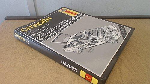9781850104070: Citroen BX Owner's Workshop Manual