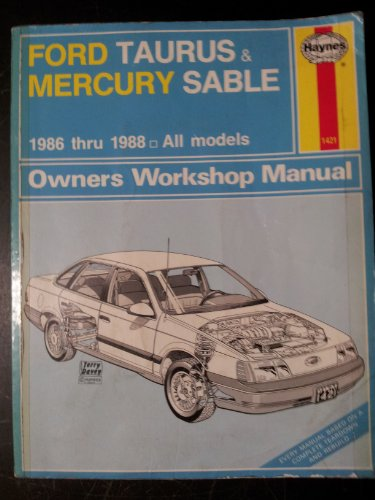 9781850104216: Ford Taurus and Mercury Sable 1986-88 All Models Owner's Workshop Manual (Haynes owners workshop manual series)