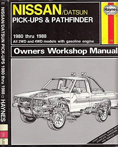 9781850104230: Nissan pick-ups owners workshop manual (Haynes owners manual series)