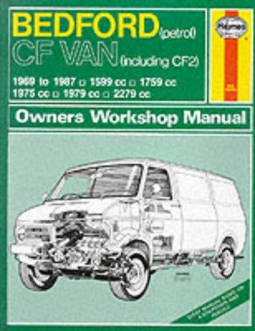 9781850104292: Bedford CF Van (Petrol) 1969-87 Owner's Workshop Manual (Service & repair manuals)