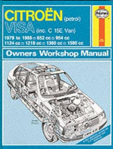 Citroen Gs and Gsa 1971-1985 (Service & repair manuals): Jones, Alec J., Strasman, Peter G.