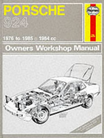 9781850104384: Porsche 924 and Turbo 1976-85 Owner's Workshop Manual (Service & repair manuals)