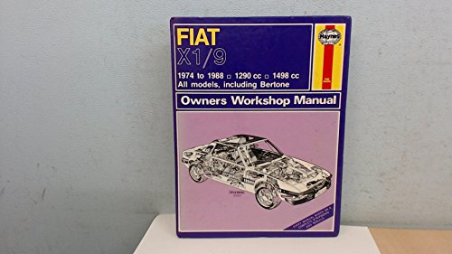 9781850104438: Fiat X1/9 1974-88 Owner's Workshop Manual