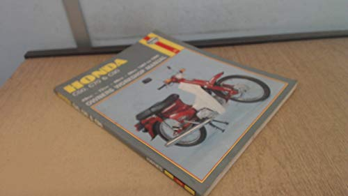 Honda C50, C70, C90 Owner's Manual (9781850104582) by Darlington