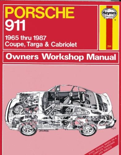 Porsche 911: Owners Workshop Manual, 1965 to 1987 - Coupe, Targa & Cabriolet ( Still In ...