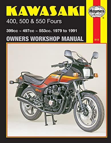 9781850104865: Kawasaki 400, 500 & 550 Fours: 1979 to 1991 (Owners Workshop Manual)
