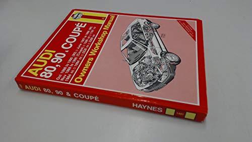 9781850104919: Audi 80, 90 and Coupe 1986-90 Owner's Workshop Manual (Service & repair manuals)