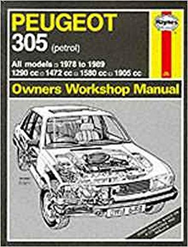 9781850105107: Peugeot 305 1978-89 (Petrol) Owner's Workshop Manual (Service & repair manuals)