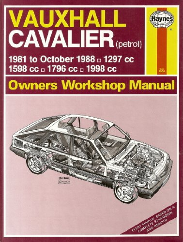 9781850105428: Vauxhall Cavalier 1981-88 Owner's Workshop Manual