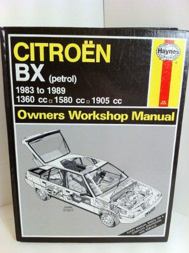 9781850105435: Citroen BX Owner's Workshop Manual