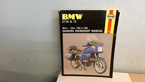 9781850105756: BMW K100 and K75 987-740cc 1983-89 Owner's Workshop Manual (No. 1373)