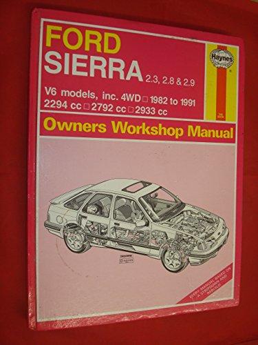 9781850105824: Ford Sierra V6 Owners Workshop Manual (Haynes Owners Workshop Manuals)