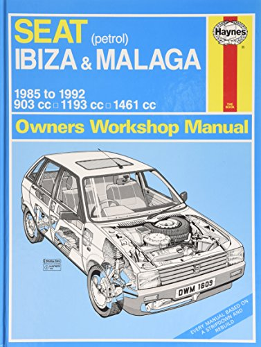 Seat Ibiza & Malaga (petrol) 1985-1992 (Haynes: Anon