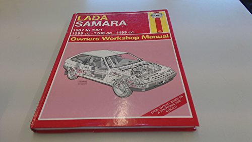 Lada Samara 1987-91 Owner's Workshop Manual (Service: Churchill, Jeremy
