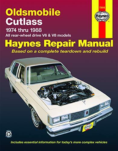 9781850106111: Oldsmobile Cutlass (74 - 88) (USA service & repair manuals)