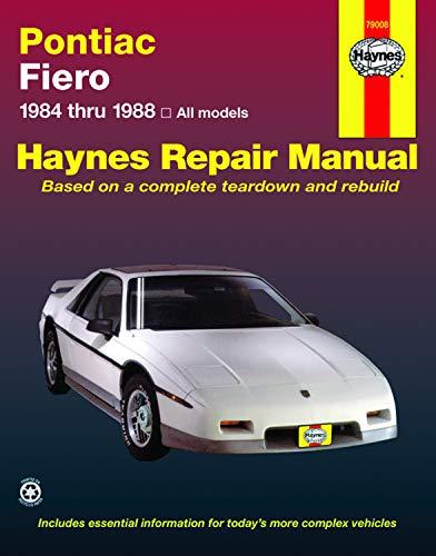 Pontiac Fiero, 1984-1988 (USA service & repair manuals): Stubblefield, Mike; Haynes, J. H.; ...