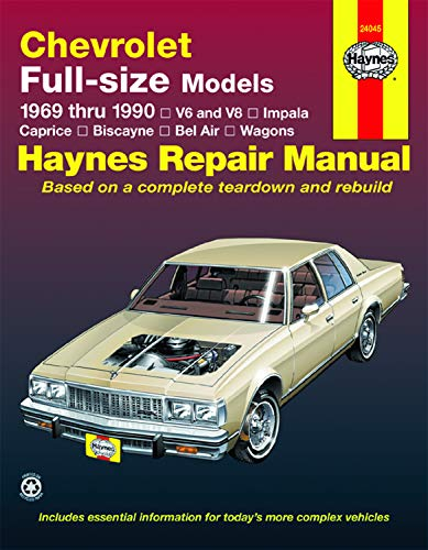 shop repair manual books and collectibles abebooks russell books rh abebooks com 1993 Chevy Z71 99 Chevy Caprice