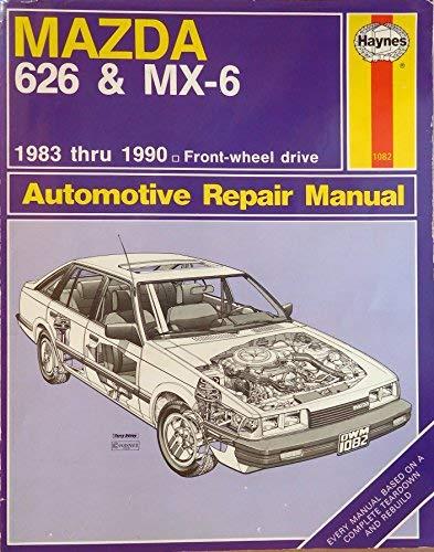 9781850106401: Mazda 626 & MX-6 Automotive Repair Manual