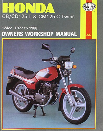 9781850106449: Honda CB/CD125T and CM125C Twins 1977-88 Owner's Workshop Manual (Motorcycle Manuals)