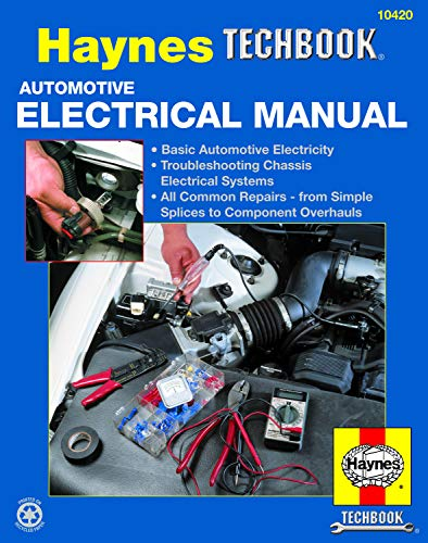 Automotive Electrical Manual Format: Paperback: Haynes