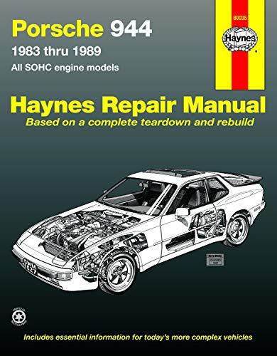 9781850106579: Porsche 944: Automotive Repair Manual--1983 thru 1989, All Models Including Turbo (Haynes Manuals)