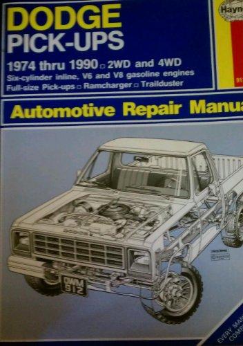 Haynes Dodge Pick-ups Owner's Workshop Manuals, No. 912 : 1974-1990: DAVID HADEN