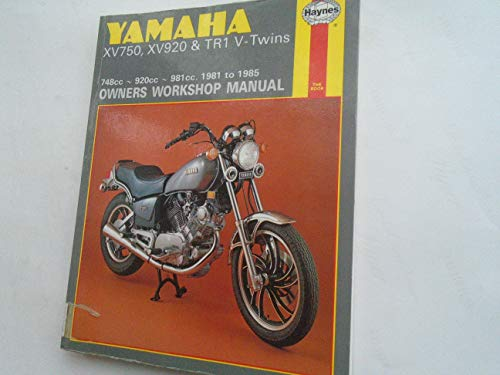 9781850106975: Yamaha XV750, XV920 and TR1 1981-85 V-twins Owners Workshop Manual