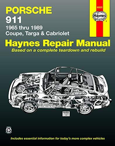 9781850106982: Porsche 911: Automotive Repair Manual, 1965 to 1989 - Coupe, Targa & Cabriolet