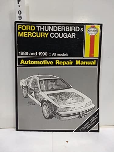 ford thunderbird and mercury cougar hayne s automotive repair rh abebooks co uk Haynes Repair Manual Online View Haynes Repair Manuals Mazda