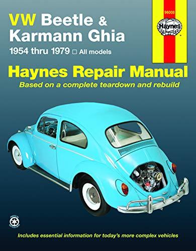 9781850107293: VW Beetle & Karmann Ghia 1954 through 1979 All Models (Haynes Repair Manual)