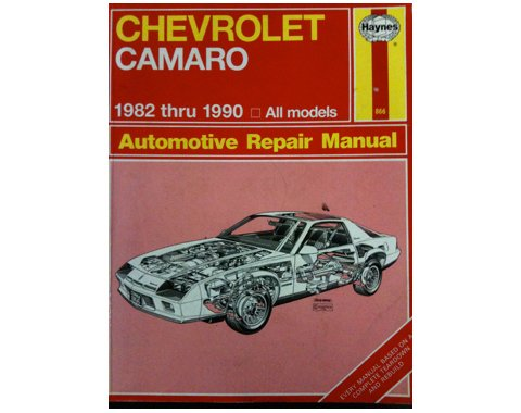 9781850107422: Chevrolet Camaro 1982-90 All Models Automotive Repair Manual