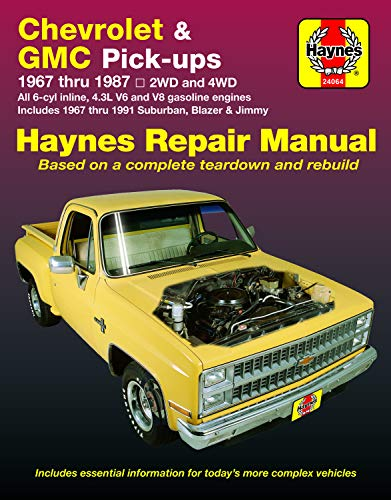 Chevrolet and GMC Pick Ups (67 - 87)