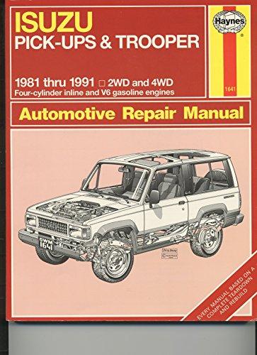 9781850107903: Isuzu Pick-ups & Trooper 1981 thru 1991 (Haynes)
