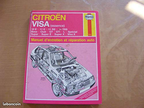 9781850108047: Citroen Visa Essence (French service & repair manuals) (French Edition)