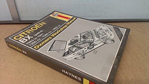 9781850108078: Citroen BX Owner's Workshop Manual