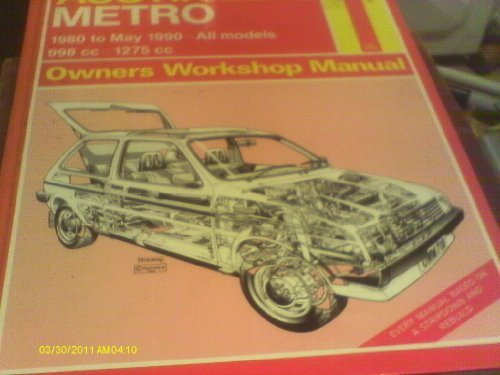 9781850108115: Austin, M.G. Metro, 1980-90 Owner's Workshop Manual