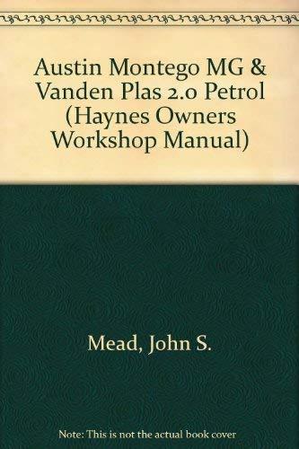 9781850108726: Austin/MG Montego 2.0 Owner's Workshop Manual