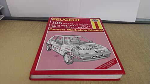 9781850108825: Peugeot 106 (Petrol and Diesel) Owners Workshop Manual (Service & repair manuals)