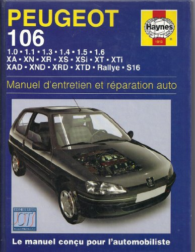 9781850109136: Peugeot 106 Essence Et Diesel (French service & repair manuals) (French Edition)