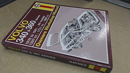9781850109143: Volvo 340 and 360 Series Owners Workshop Manual (Service & repair manuals)