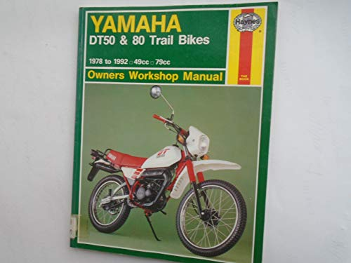 9781850109167: Yamaha DT50 and 80 Trail Bikes Owner's Workshop Manual (Haynes Owners Workshop Manuals)