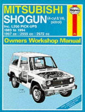 9781850109440: Mitsubishi Shogun and L200 Owner's Workshop Manual (Haynes Owners Workshop Manuals)