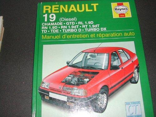 9781850109501: Renault 19 diesel