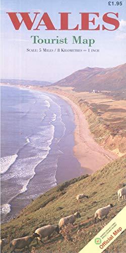 9781850130826: Wales Tourist Map